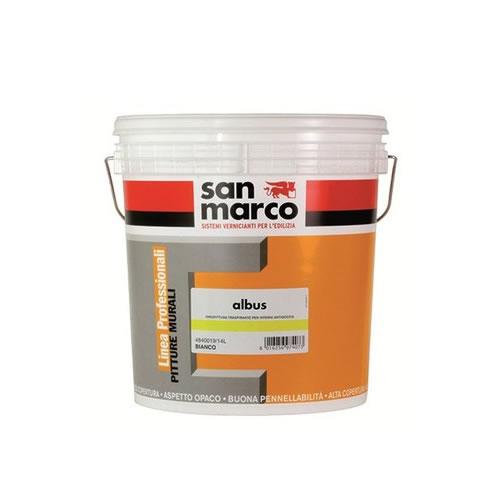 Pitture San Marco Interni.Albus Pittura Traspirante Interni Alta Copertura San